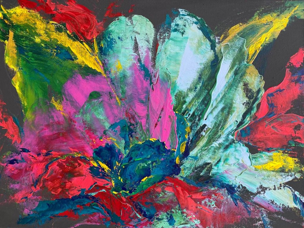 The Turquoise Iris Coral Reef of Saint Thomas 2021 Painting